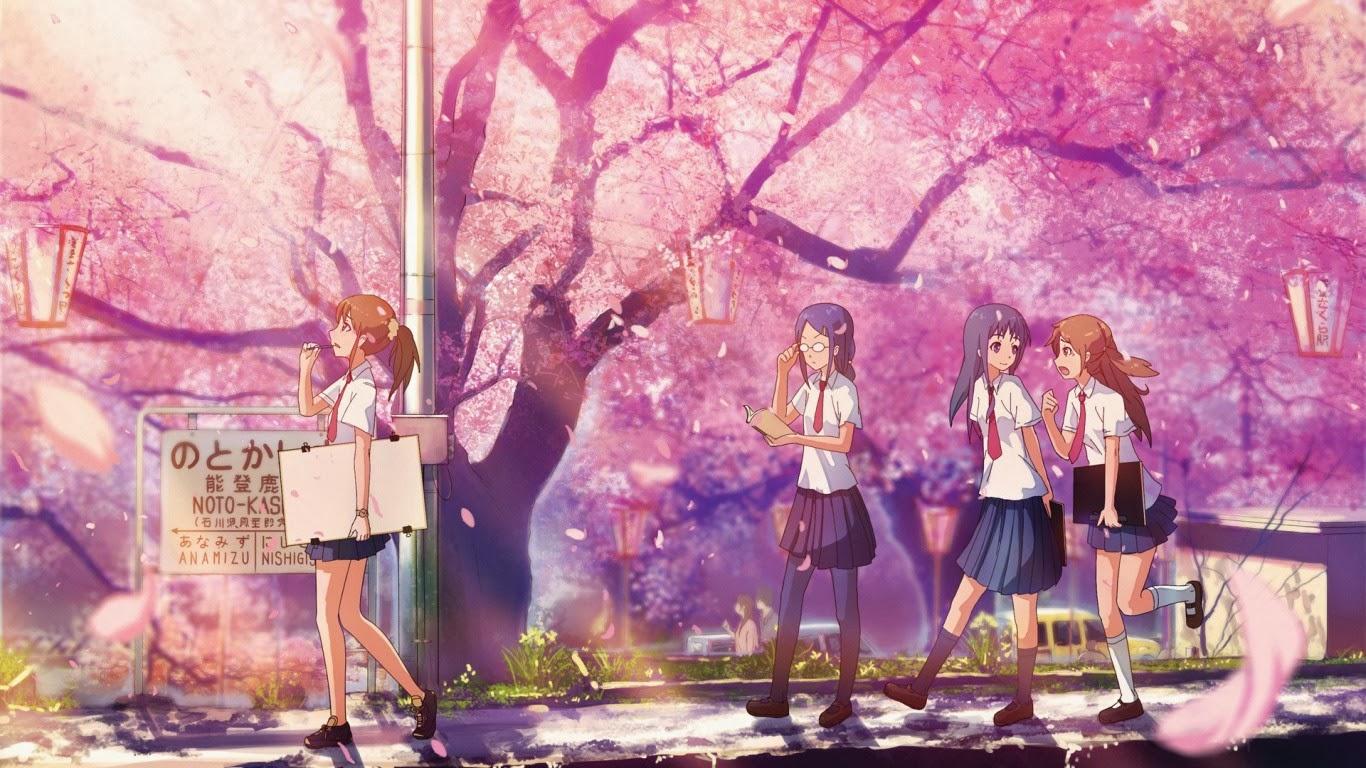 Gambar Bunga Sakura Di Jepang Sealkazz Blog Gambartopcom